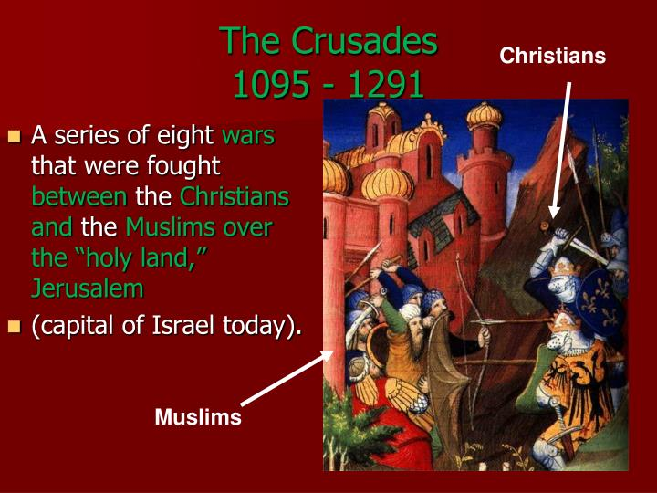 the crusades 1095 1291 n.