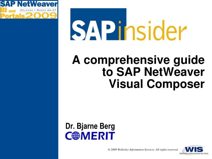 a comprehensive guide to sap netweaver visual composer n.