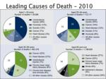 leading causes of death 2010
