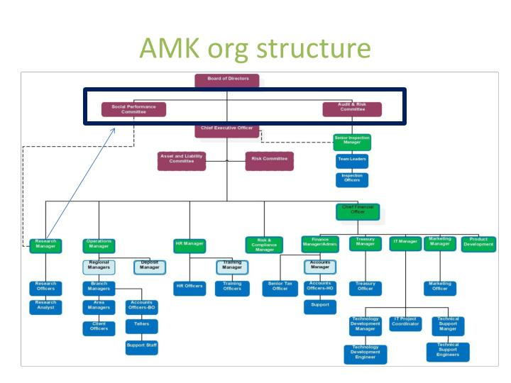 amk org structure n.
