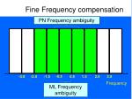 fine frequency compensation