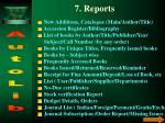 7 reports