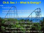 ch 9 sec 1 what is energy2