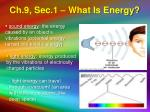 ch 9 sec 1 what is energy7