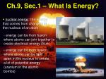 ch 9 sec 1 what is energy8