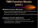 tmn function blocks cont