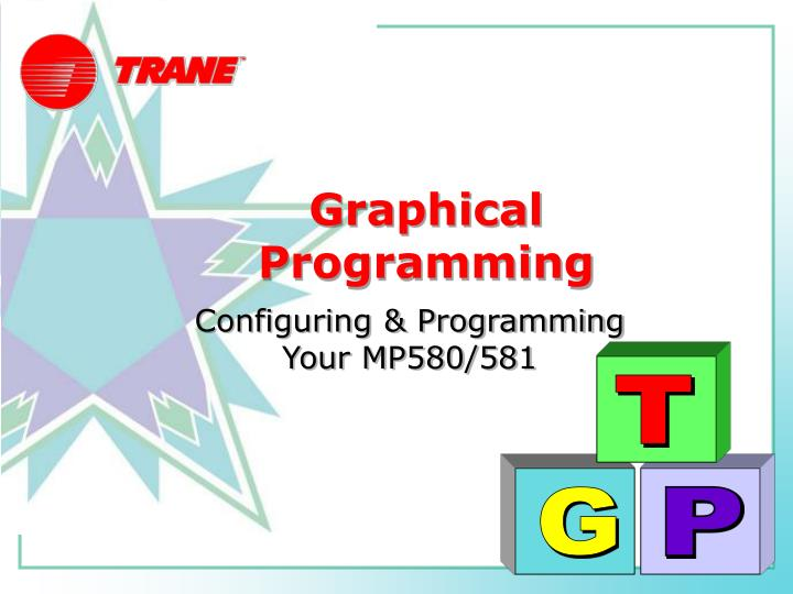 graphical programming n.