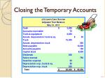 closing the temporary accounts