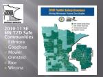 2010 11 se mn tzd safe communities fillmore goodhue mower olmsted rice winona