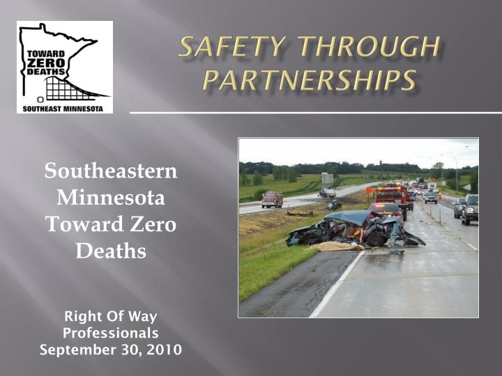 safety through partnerships n.
