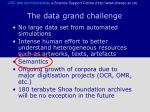 the data grand challenge