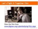 let s fight it together film