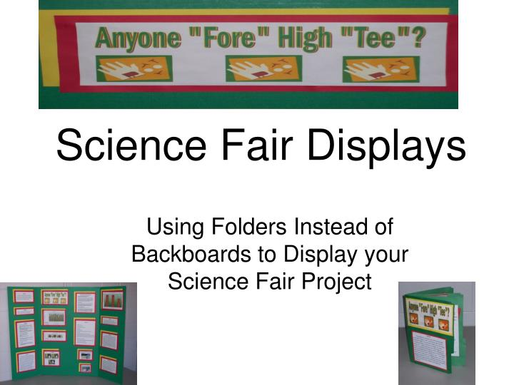 science fair displays n.