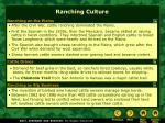 ranching culture