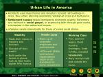 urban life in america
