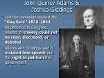 john quincy adams joshua giddings