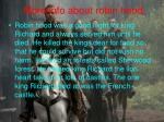 more info about robin hood
