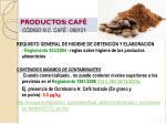 productos caf c digo n c caf 090121