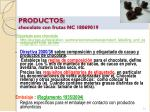 productos chocolate con frutas nc 180690191