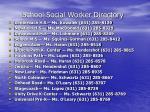 school social worker directory