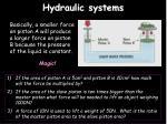 hydraulic systems2
