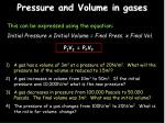 pressure and volume in gases2