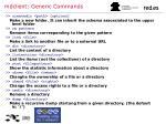 mdclient generic commands