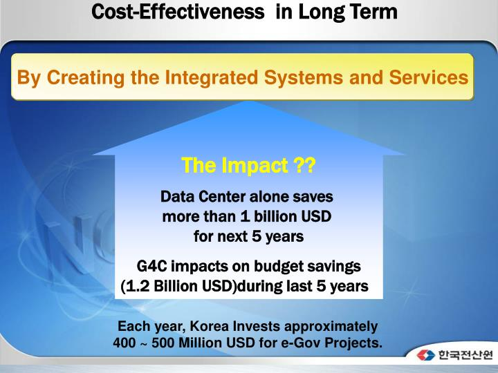 Cost-Effectiveness  in Long Term