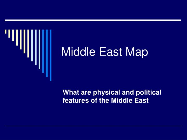 middle east map n.