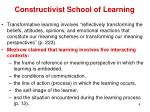 constructivist school of learning2