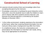 constructivist school of learning4