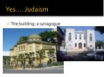 yes judaism