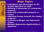 major topics