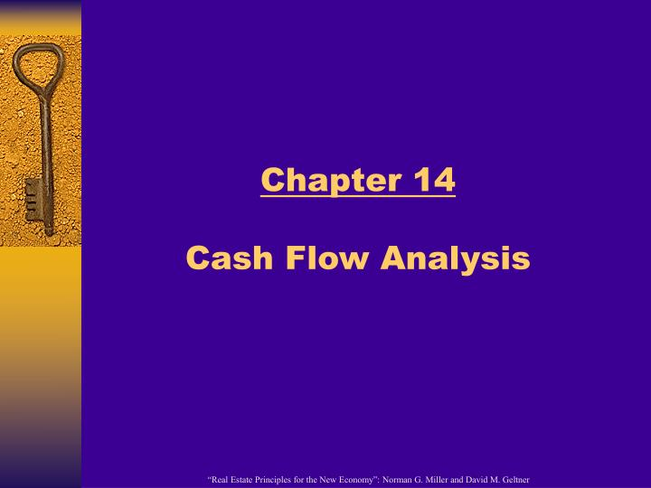 chapter 14 cash flow analysis n.