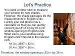 let s practice2