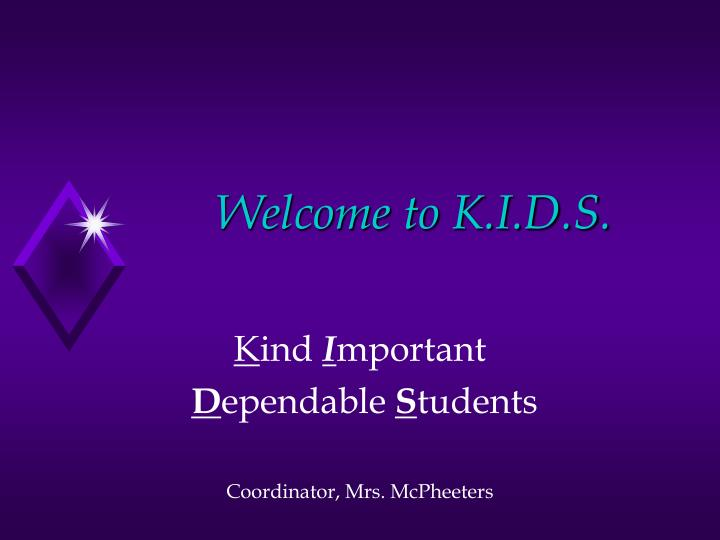 welcome to k i d s n.