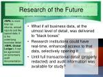 research of the future1