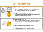 10 transitions
