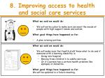 8 improving access to health and social care services2