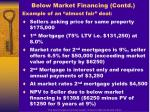 below market financing contd1