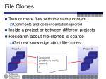 file clones