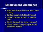 employment experience1