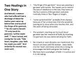 two healings in one story2