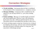connection strategies