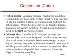 contention cont