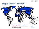 hague system tomorrow