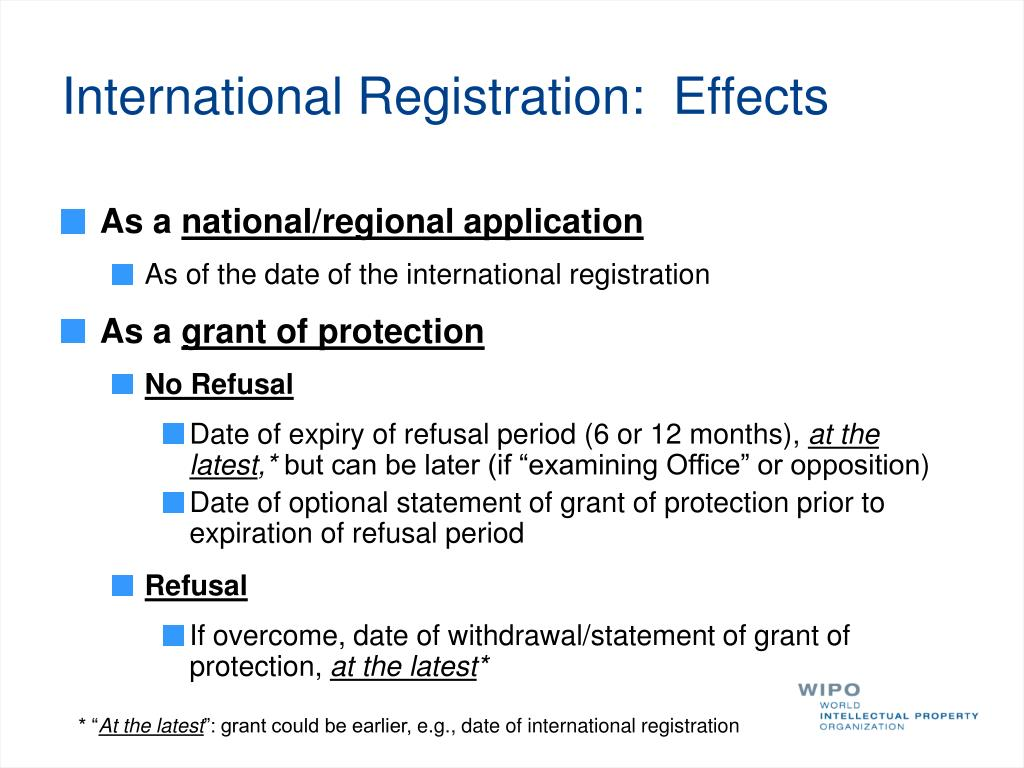 PPT - Hague System for the International Registration of