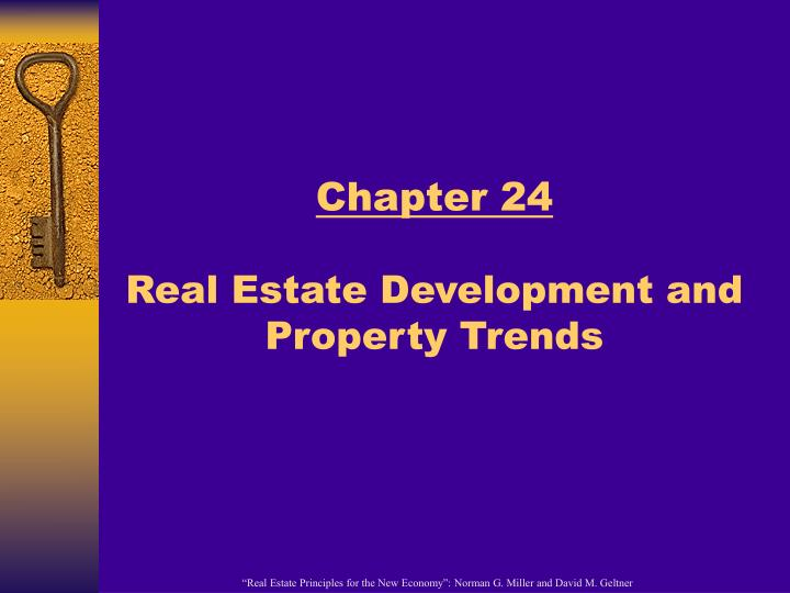 chapter 24 real estate development and property trends n.