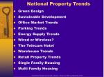 national property trends