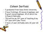 coleen serfoss